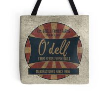 Odell Vintage Farm Feed Sack Tote Bag