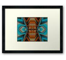 Navaho Blanket Framed Print
