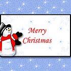 Merry Christmas Snowman  by Sheryl Kasper