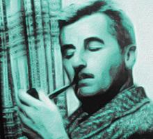 William Faulkner Sticker