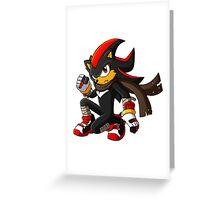 Shadow Boom Greeting Card