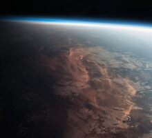 Earth From Space - Fantastic HD image of Earth taken from Orbit - International Space Station #iss by verypeculiar