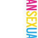 Pansexual - Vertical by Ashton Bancroft
