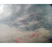 Don't you just love the Red Arrows? Photographic Print