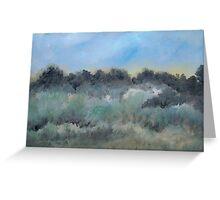 abstract Landscape South East Louisiana Greeting Card
