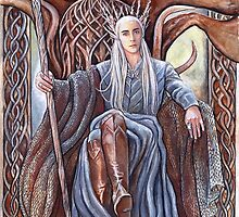 King on his throne by jankolas
