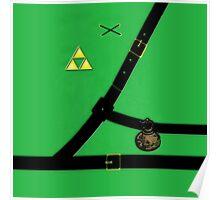 The Legend Of Zelda Suit Poster