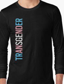 Transgender - Vertical Long Sleeve T-Shirt