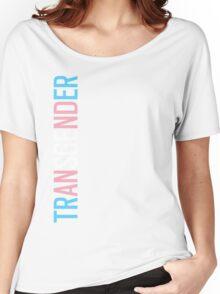 Transgender - Vertical Women's Relaxed Fit T-Shirt