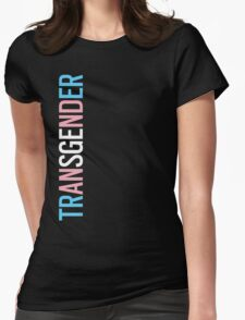 Transgender - Vertical Womens Fitted T-Shirt