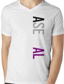 Asexual - Vertical Mens V-Neck T-Shirt
