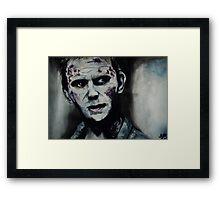 Supernatural- Lucifer  Framed Print