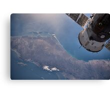 Earth From Space - Fantastic HD image of Earth taken from Orbit - International Space Station #iss Canvas Print