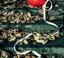 red balloon by Joana Kruse