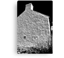 Cottage Wall, Pembrokeshire Canvas Print