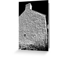Cottage Wall, Pembrokeshire Greeting Card