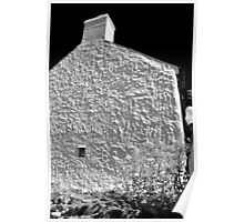 Cottage Wall, Pembrokeshire Poster
