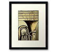 horn Framed Print