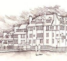 the Edinbrugh Castle Terrace by miandza