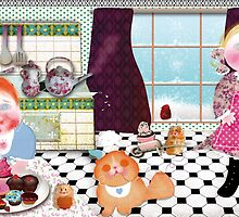 Cooking with friends. year 2013. by ordesigns