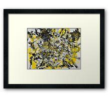 Neko Abstract #8 Framed Print