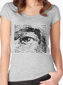 Show me the money (usa) Women's Fitted Scoop T-Shirt
