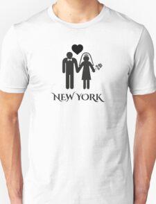 New York Wedding Unisex T-Shirt