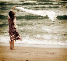 flying scarf by Joana Kruse