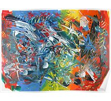 Neko Abstract #10 Poster