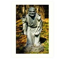 Nan Tien Buddhist Temple - Sculpture Art Print