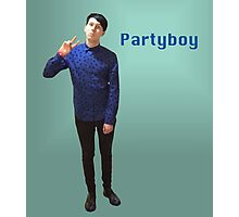 Phil Lester Partyboy Photographic Print