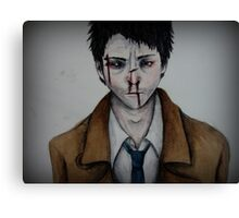 Supernatural- Castiel  Canvas Print