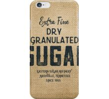 Vintage Style Sugar Sack iPhone Case/Skin