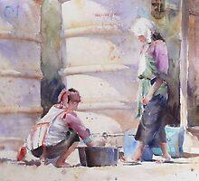 Washing Up by Lara  Cooper