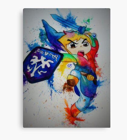 Link- The Legend of Zelda Canvas Print