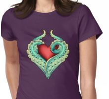 Tentacle Love Womens Fitted T-Shirt
