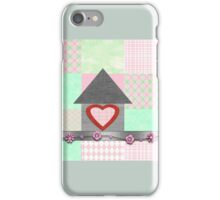 patchwork pink  iPhone Case/Skin