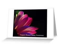 PINK Collection for the Cure - Support Breast Cancer Awareness  Greeting Card
