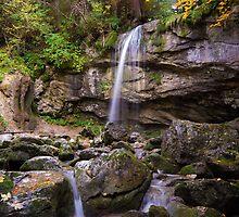 Cascade de la Fauge by Sylvain Girard