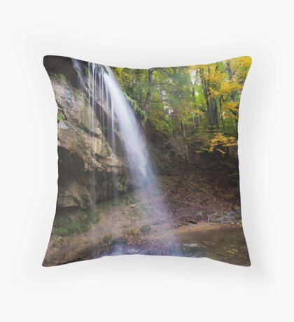 Vertical Stream Throw Pillow
