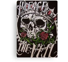Pierce the Veil- Skull Canvas Print