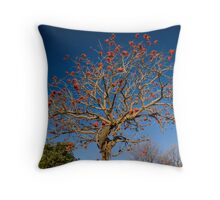 The Coral Tree Throw Pillow
