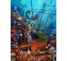 The Mermaid's Treasure Photographic Print