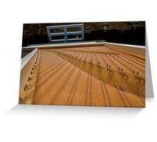 Harpsichord Guts 2 Greeting Card