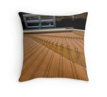 Harpsichord Guts 2 Throw Pillow