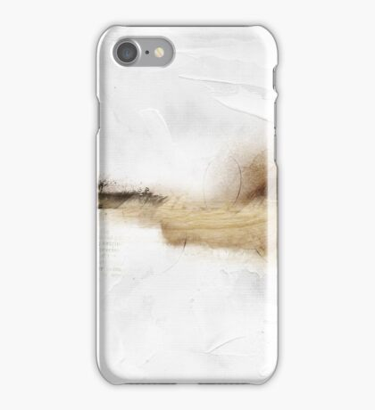 abstract untitled work on paper iPhone Case/Skin