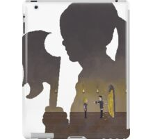Pixel Buffy kills Angel iPad Case/Skin