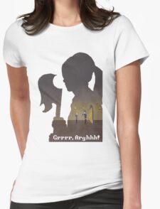 Pixel Buffy kills Angel Womens Fitted T-Shirt