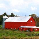 Rural Fall In Vermont by Deborah  Benoit