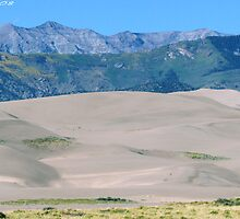 #573  Dunes & Mountains Of Colorado by MyInnereyeMike